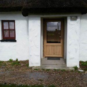 Porte d'entrée, Chaumière – Irlande