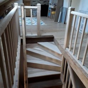 Modification d'escalier