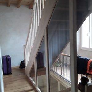 Rénovation d'escalier ancien